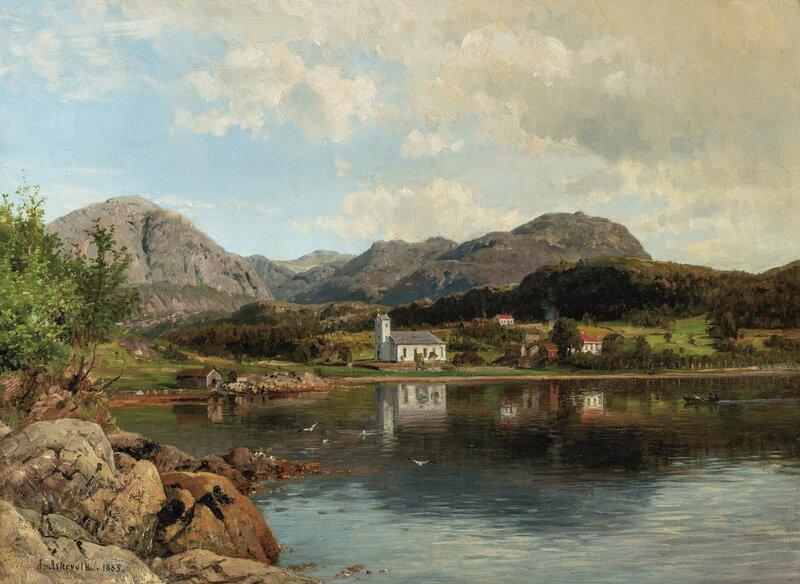 Askevold kirke 1885