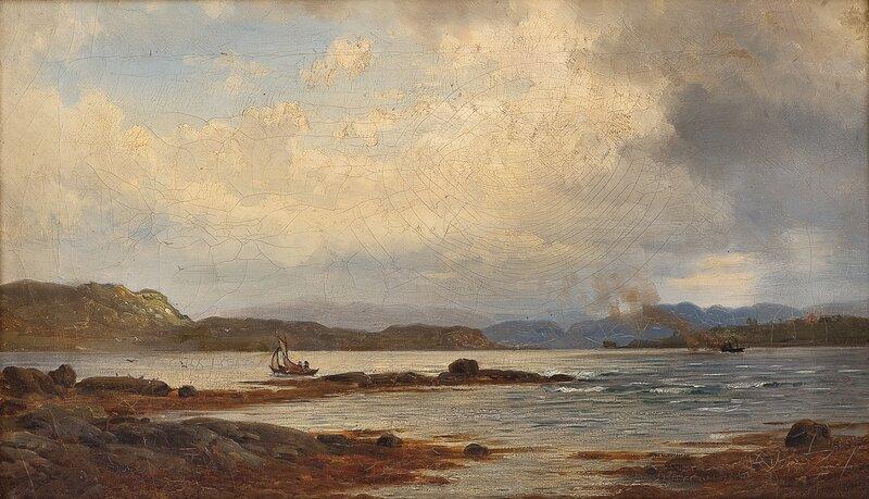 Fra Prestøen i Sundfjord 1878
