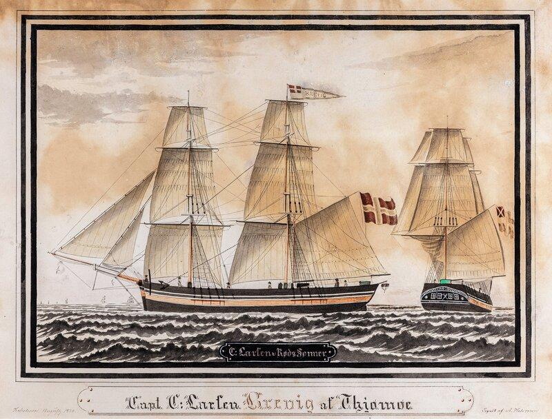 Briggen Brevig af Thjømøe 1834
