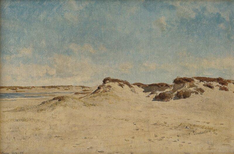 Fra Ogna på Jæren 1879