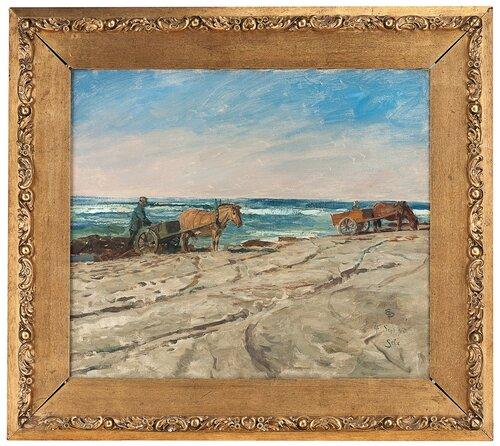 Tarekjøring, Sele 1895