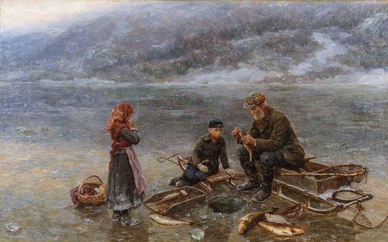 Isfiske 1910