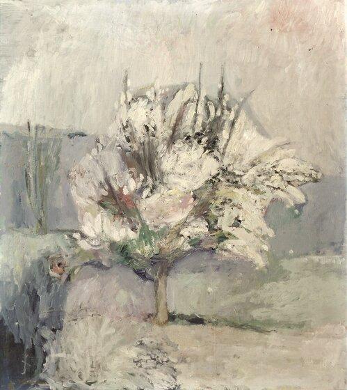 Frukttre i blomstring