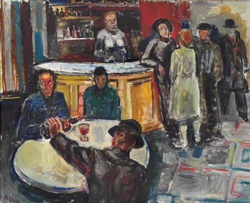 Fra en bar 1931