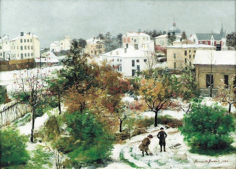 Fra Hegdehaugen 1885