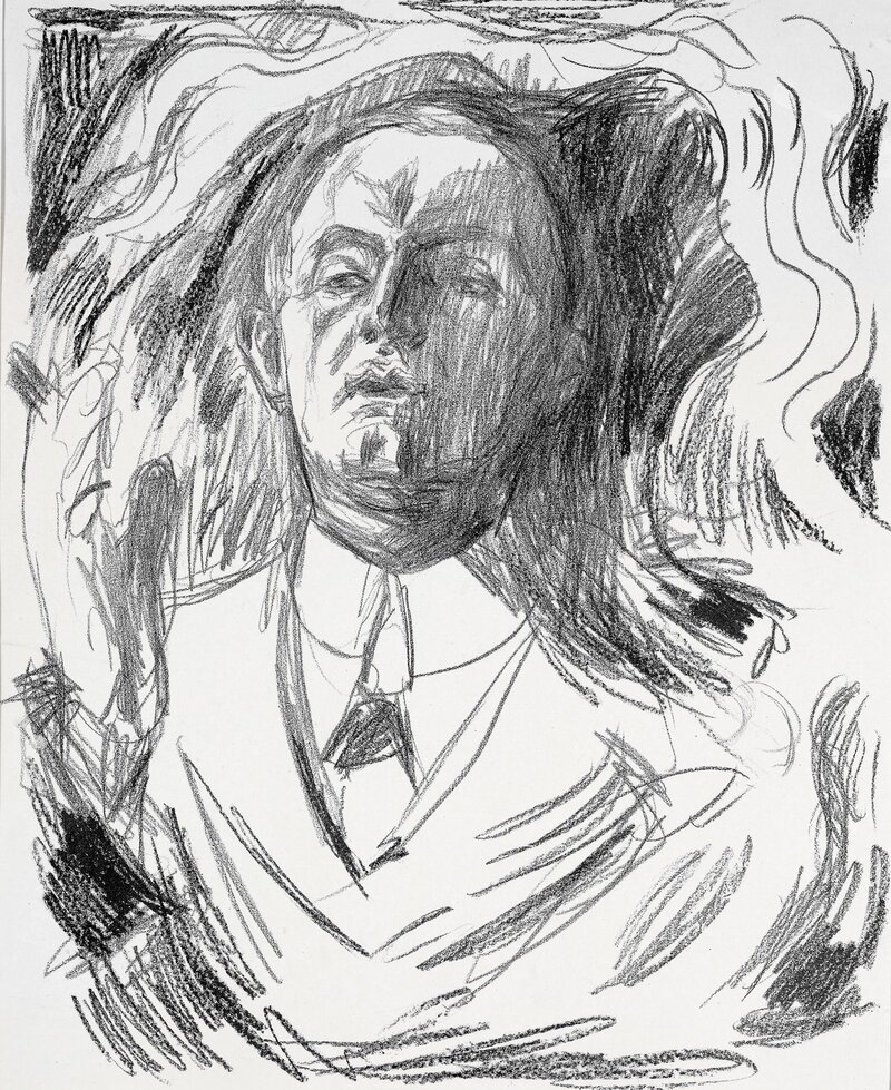 Self Portrait with a Cigar