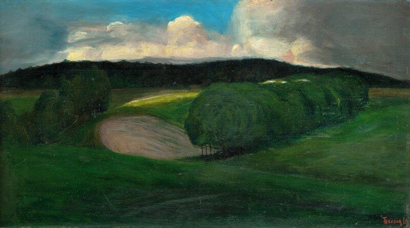 Grønt landskap 1899