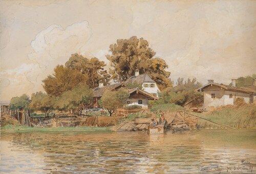 Frauen Chiemsee 1867
