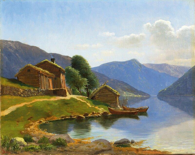 Fra Veblungsnæs i Romsdalen 1876