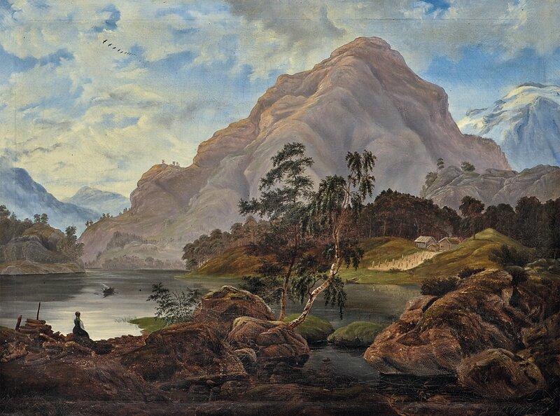 Fra Sørumsvannet 1845