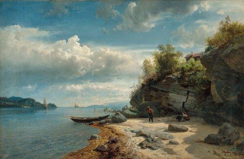 Christianiafjorden 1857