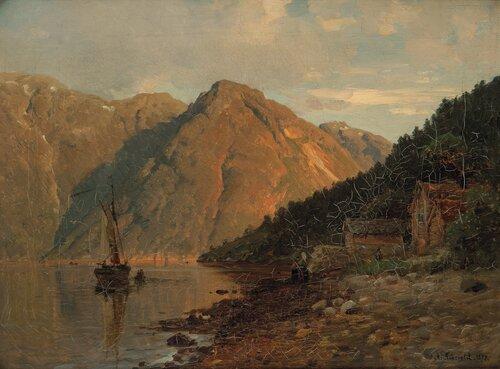 Ved Utne i Hardanger 1877