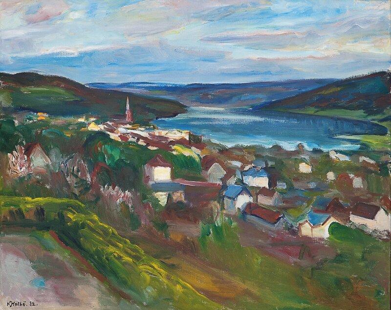 Utsyn over Lillehammer 1932