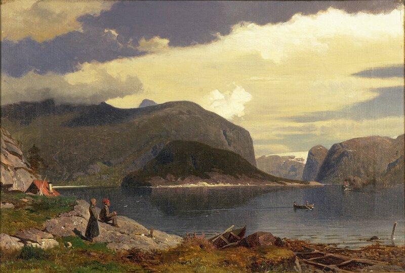 Fjordlandskap 1867