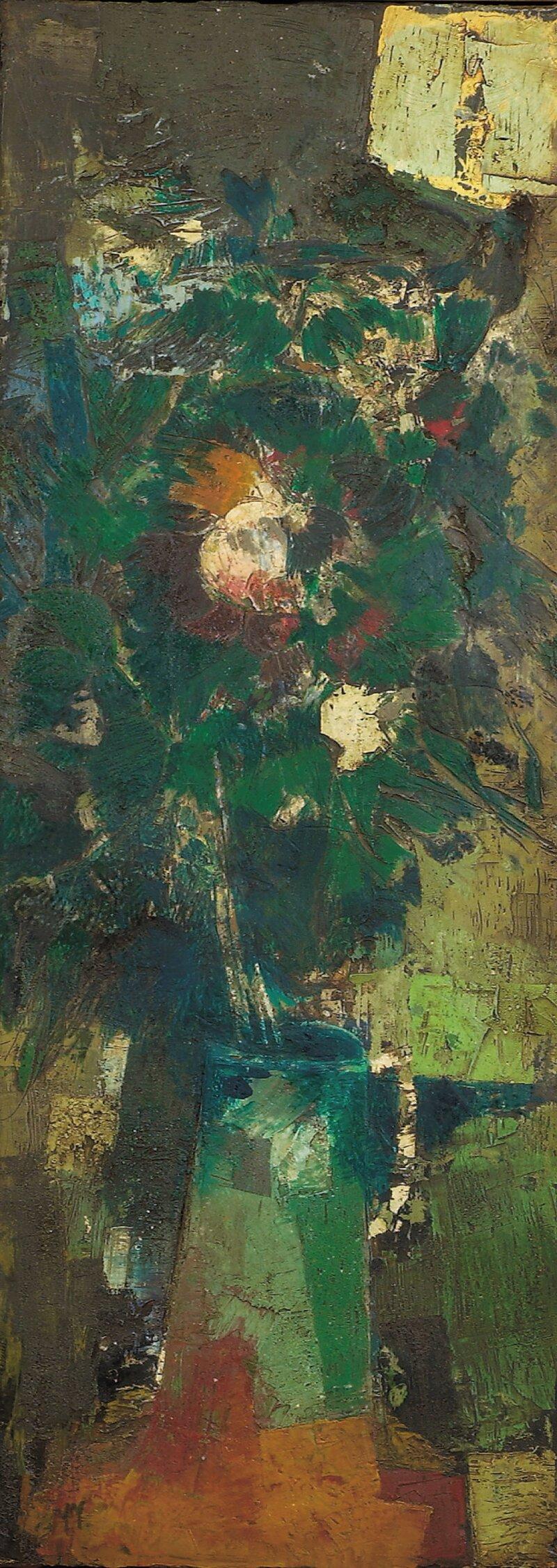 Blomster i kanne