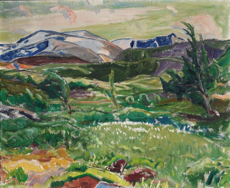 Fra fjellet. Myrull 1919
