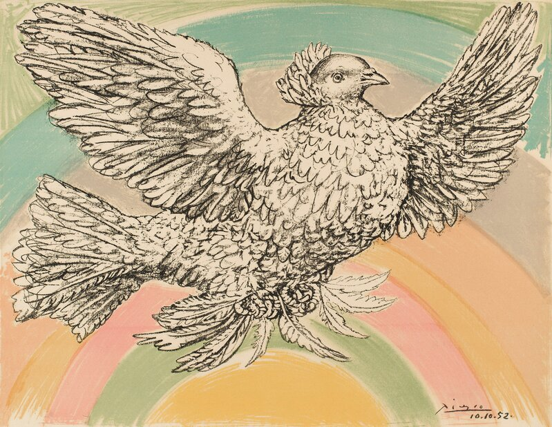 Colombe Volant (Flying Dove)