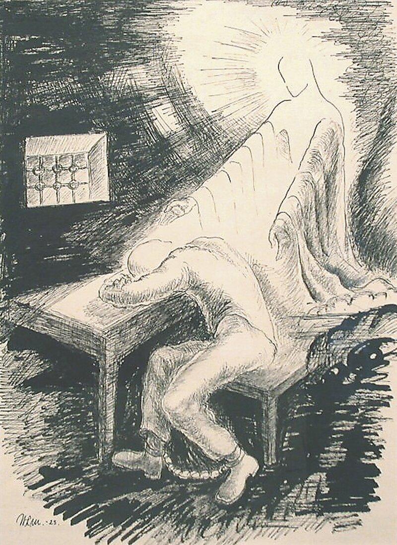 Fangen på Akershus 1923