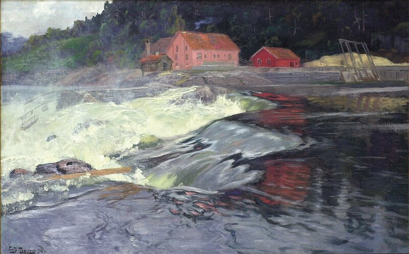 Fossefall i Norge 1894