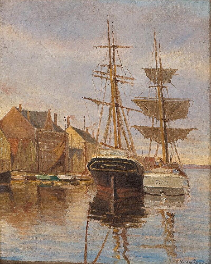 Fra Stavanger havn
