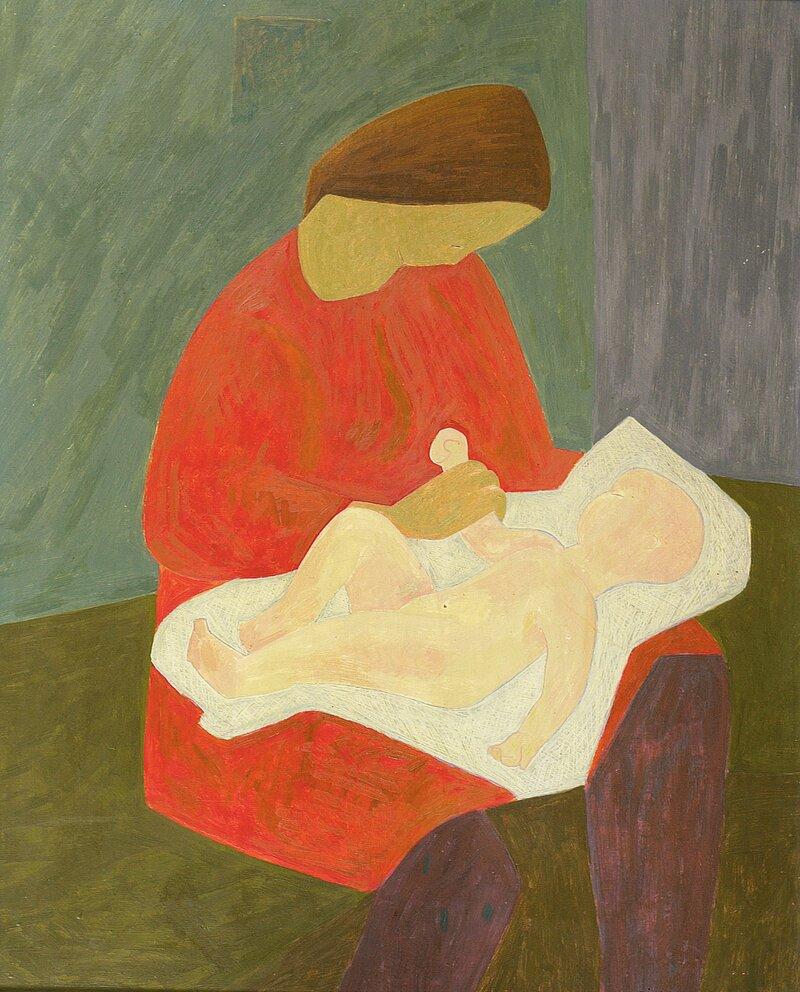 Mor og barn 1944