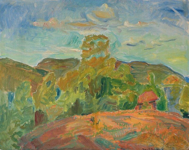 Sommerlandskap 1936