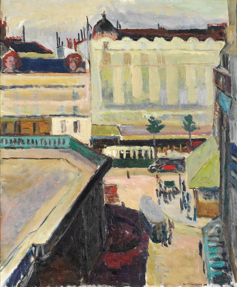 Plassen foran Gare Montparnasse 1928