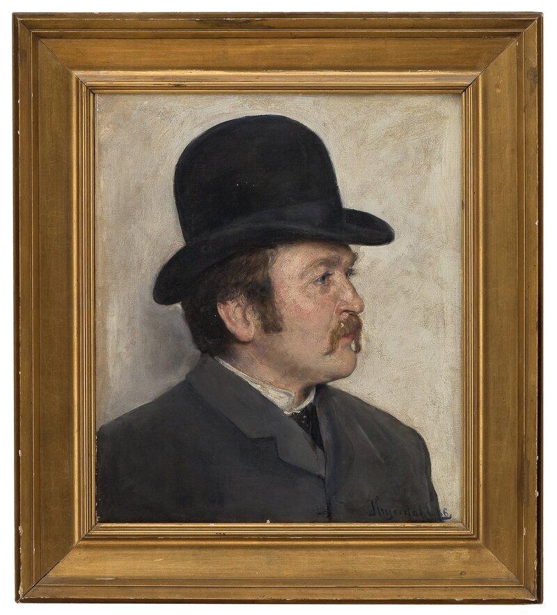 Mann med hatt 1886