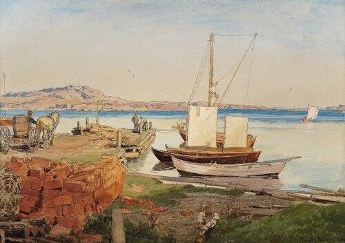 Fra Fredriksvern 1884