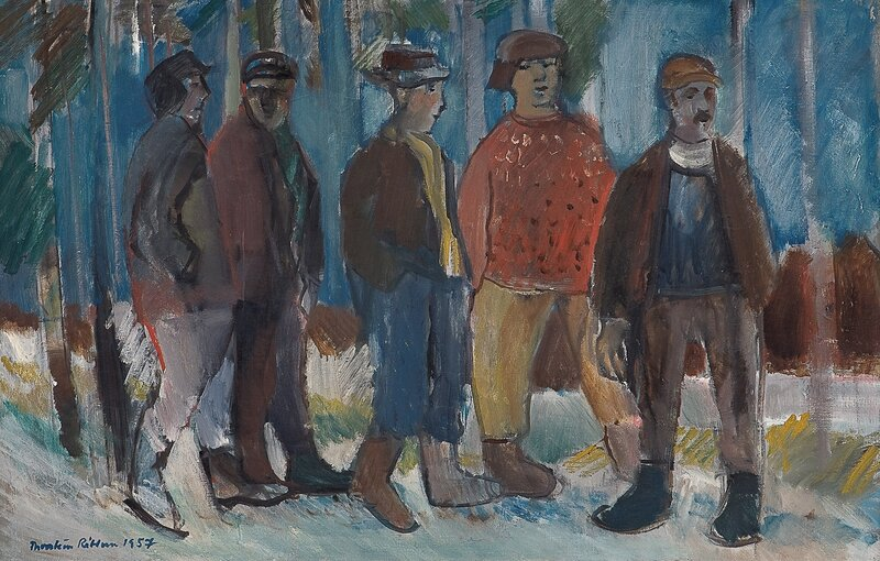 Skogsarbeidere 1957