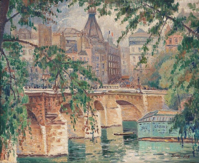 Le Pont Neuf 1919