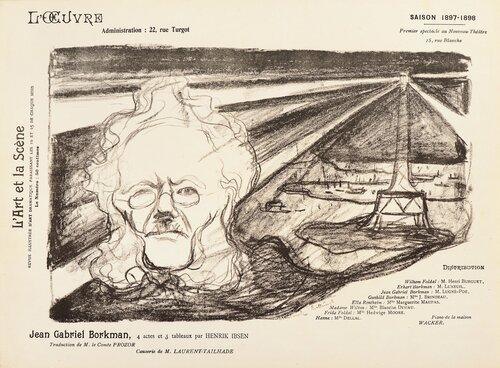 Teaterprogram: John Gabriel Borkman