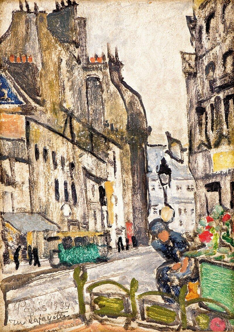 Rue Lafayette, Paris 1934