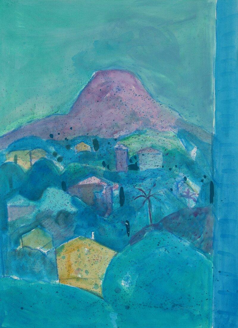 Det røde fjellet, Vence