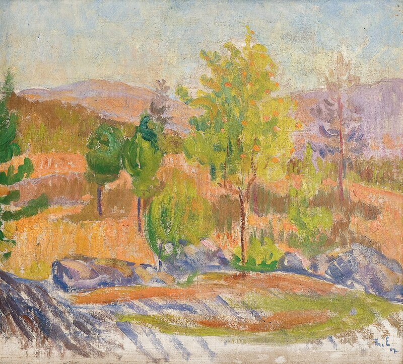 Rognebærtre 1907