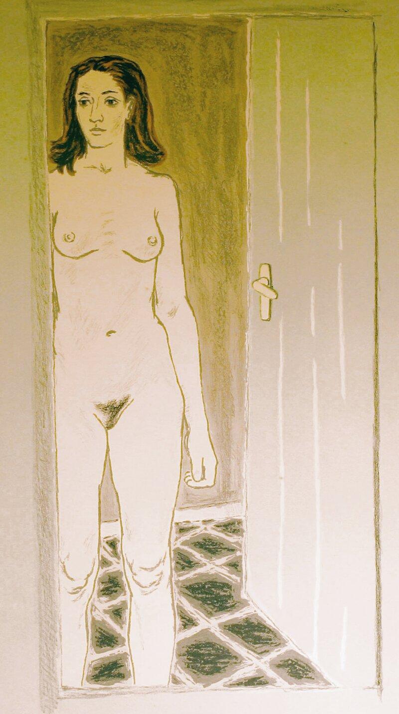 Akt i døren 1946