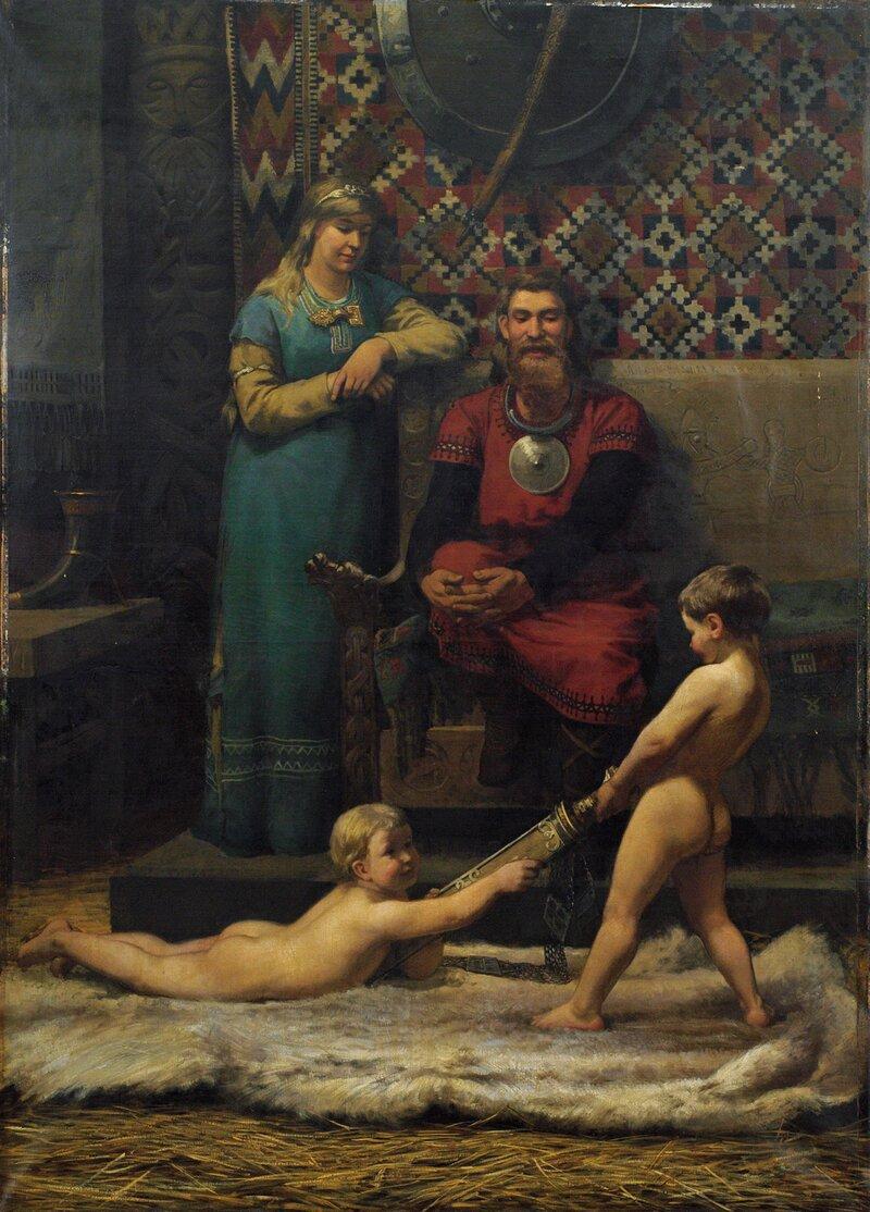 Joie du foyer 1879
