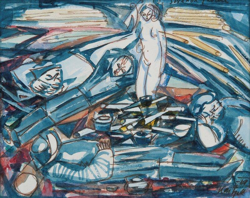 Sovende fløtere 1968