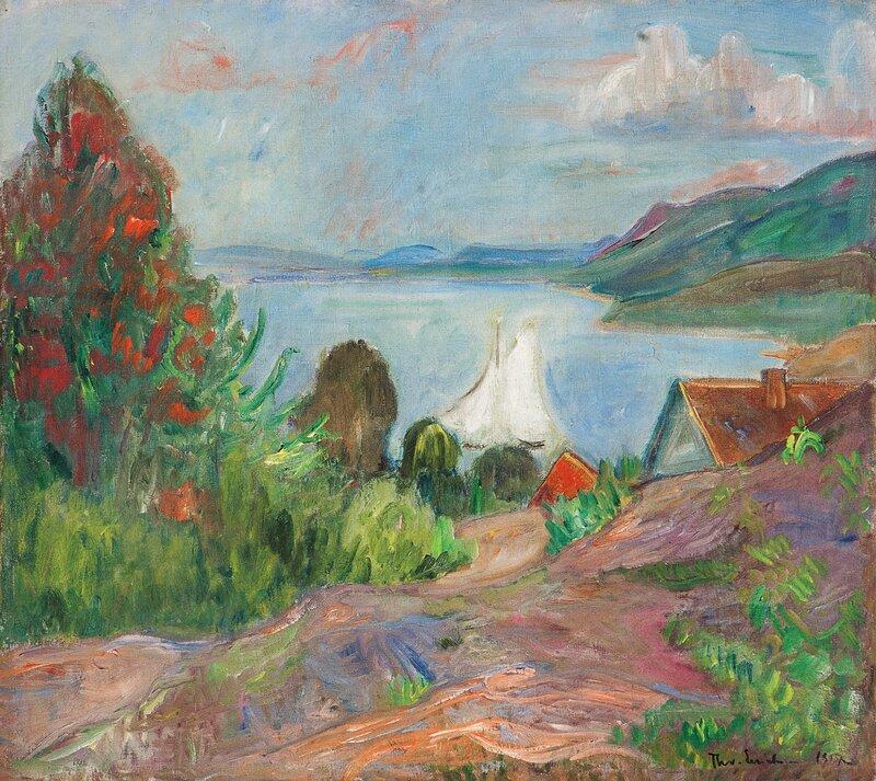 Sommer i Holmsbu 1917