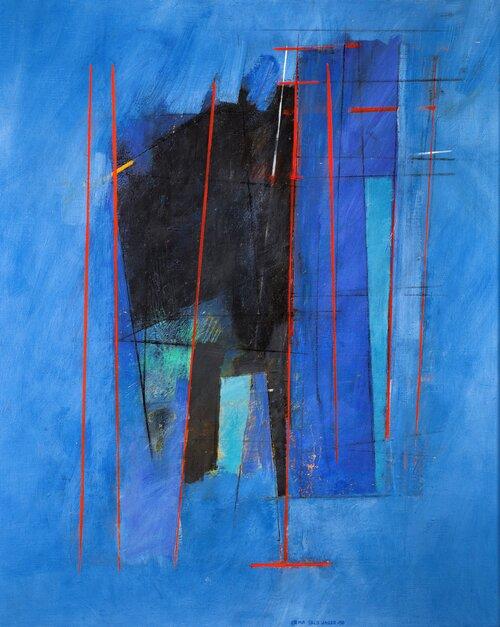 Fuge i blått 1990