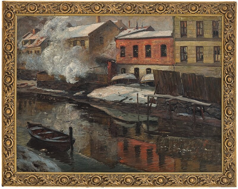 Fra Akerselven 1902