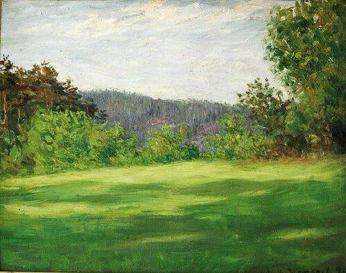 Grønt gress 1890