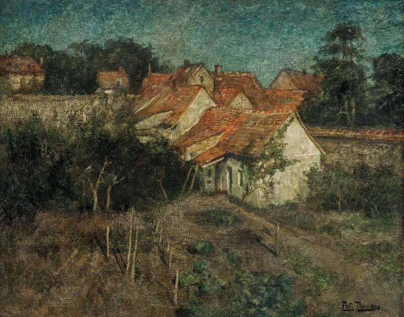 Fransk landsby