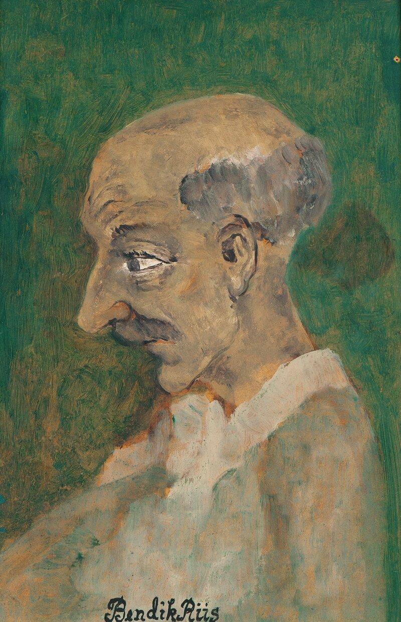 Portrait of Karl August Andreassen
