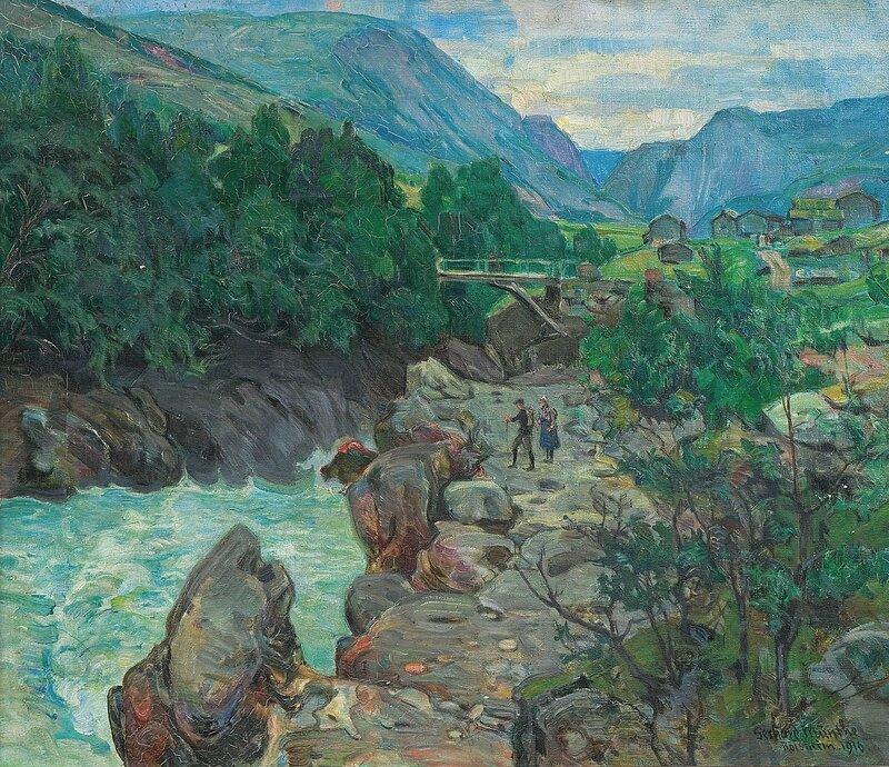 Fra Røisheim 1916