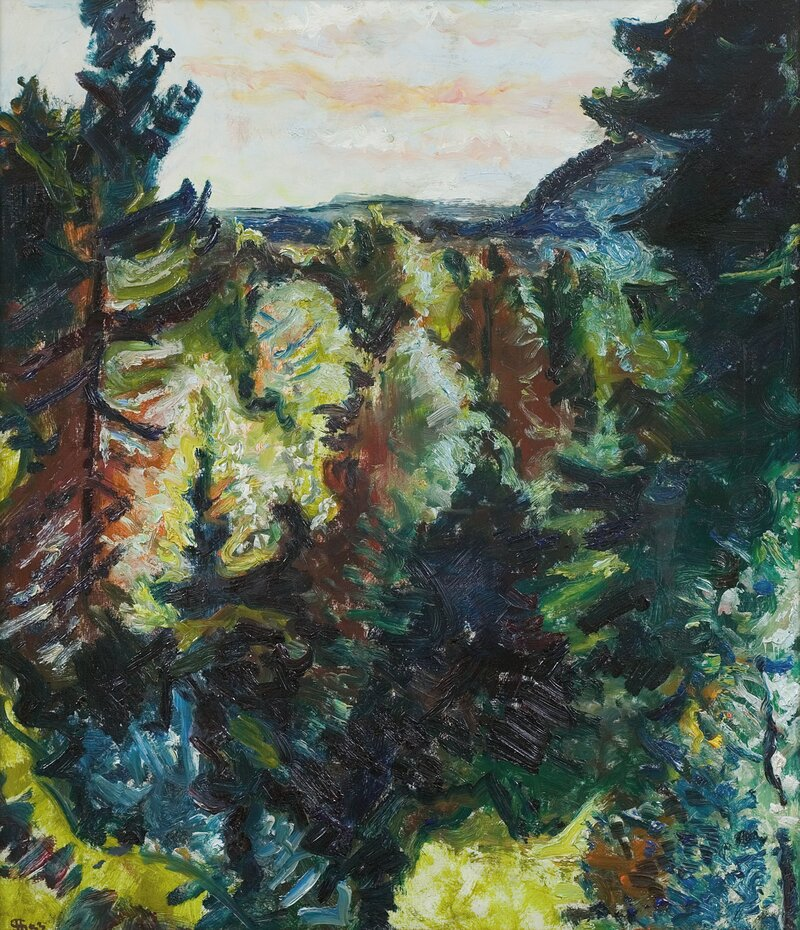 Skogen 1933