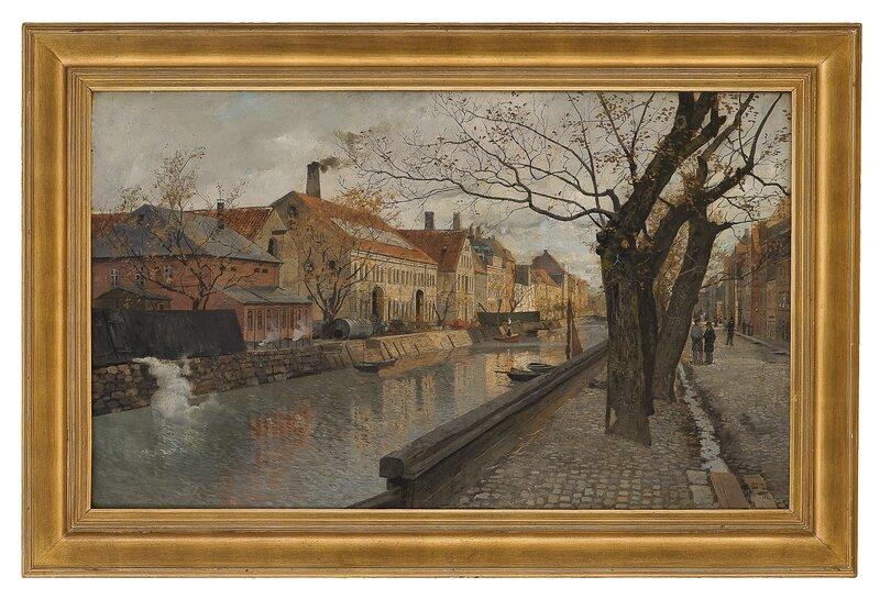 Fra Christianshavn 1881