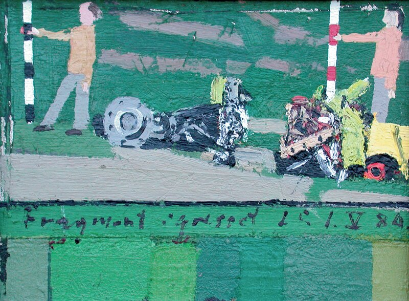 Fragment i gresset 1984