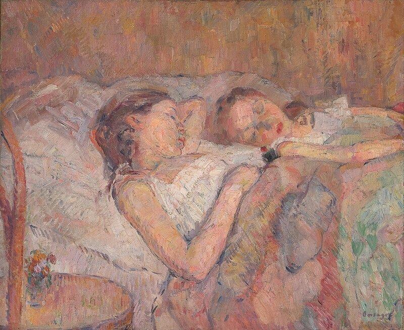 Sovende småpiker