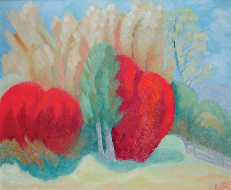 Røde trær 1943